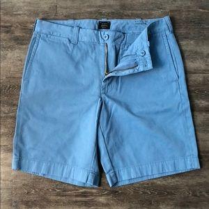 "JCrew Stanton 9"" shorts, size 32"